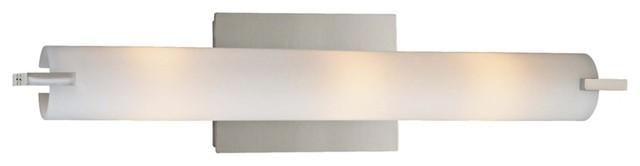 "George Kovacs Energy Efficient 20 1/2"" Wide Bath Light contemporary-bathroom-lighting-and-vanity-lighting"