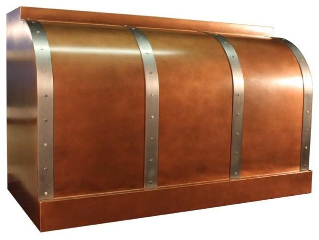 Copper Range Hood | Barrel | Vogler range-hoods-and-vents