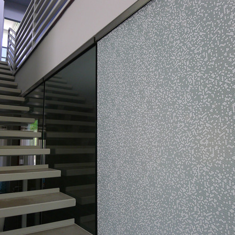 Pixel Window Film contemporary window treatments