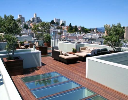 Roof Deck W Skylight