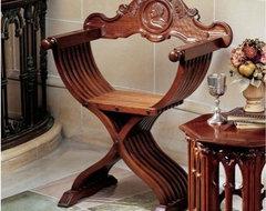 Italian X Chair In Rome Tuscan Furniture Style
