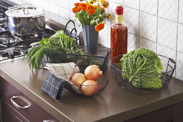 Stella Collection Wire Baskets traditional