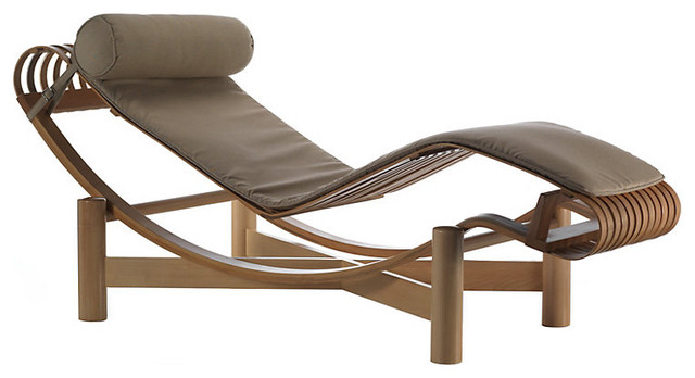 Outdoor tokyo chaise lounge modern outdoor chaise for Chaise longue or chaise lounge