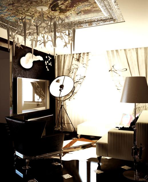 Guns & Roses living-room