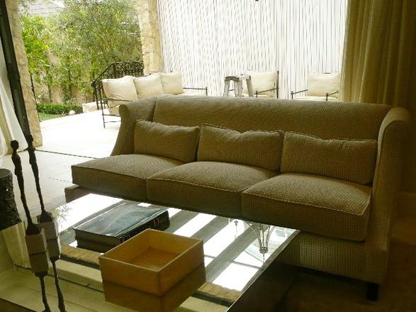 Custom Built and Upholstered Sofa contemporary-sofas