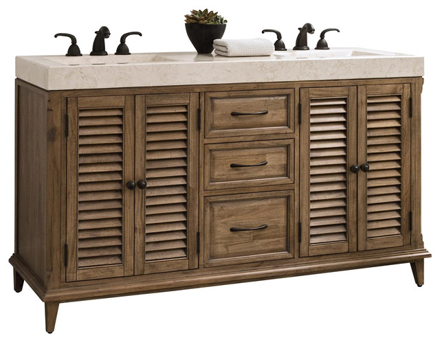 """New Ambella Home 60"""" Sink Chest Hampton Road traditional-bathroom-vanities-and-sink-consoles"""