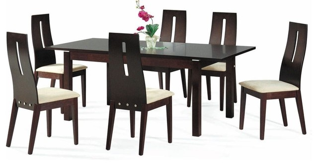 Contemporary Extendable Kitchen Dinette Sets Modern Dining Tables Miami