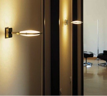 Tessera Wall Lamp \ Sconce By Oluce Lighting modern wall sconces