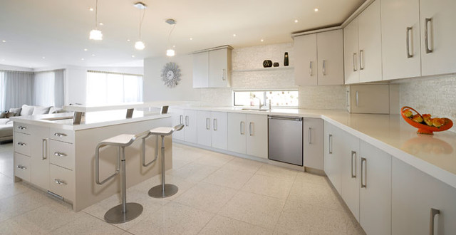 Caesarstone Pure White Kitchen Countertops By Caesarstone
