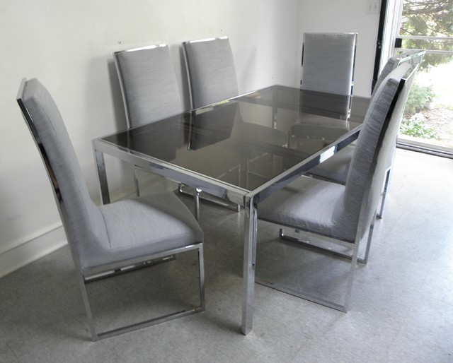 Glass Chrome Dining Table. Glass Chrome Dining Table Somette Round, Dining  Tables