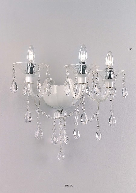 Wall Sconces Chandelier : Cangini & Tucci MAXIMILIAN Chandelier 12 Bulbs 684.12L - Modern - Wall Sconces - by Topdomus by ...