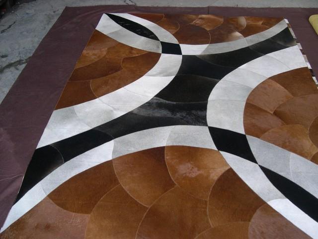 Cow hide modern-rugs