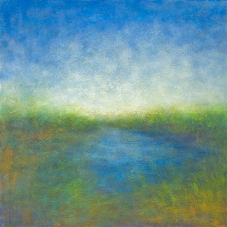 Looking West (Original) by Victoria Veedell contemporary-originals-and-limited-editions