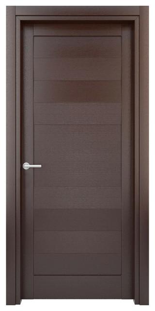 Modern Interior Doors Ideas 30: Interior Door Solid Wood Construction (Laminated) Wenge