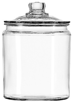 Anchor Hocking Glass Jar Set traditional-kitchen-canisters-and-jars
