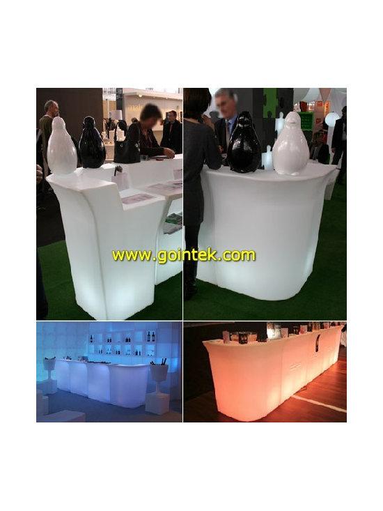 Glowing bar counter,led bar table -