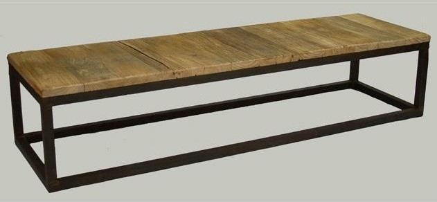 Zentique Rustique Rectangular Coffee Table traditional-coffee-tables