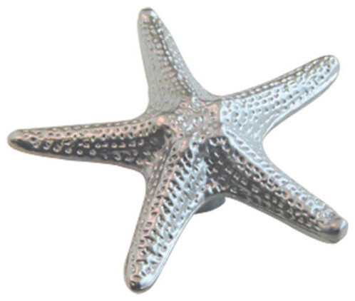 Designer's Edge 2-inch Starfish Cabinet Knob - Tropical - Cabinet And ...