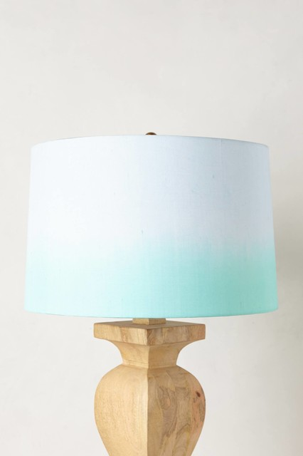 silk ombr shade mint contemporary lamp shades by. Black Bedroom Furniture Sets. Home Design Ideas