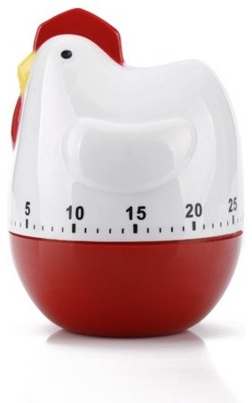 HDE Chicken Kitchen Timer contemporary kitchen tools