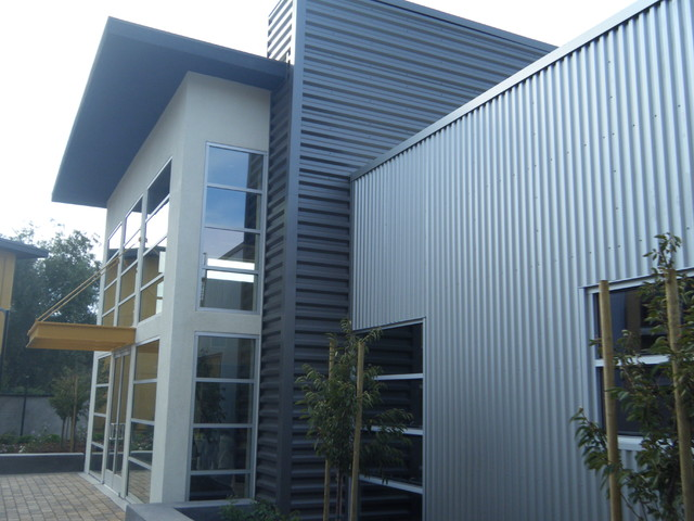 Apartment siding contemporary exterior san francisco for Modern metal homes