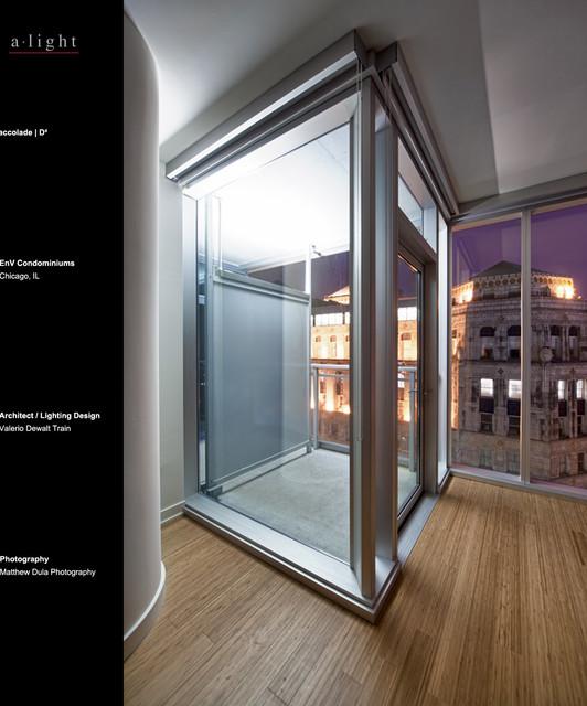 EnV Condominiums | Chicago, IL modern-lighting