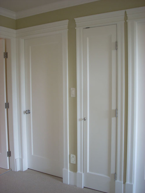 Interior Closet Traditional Interior Doors Vancouver