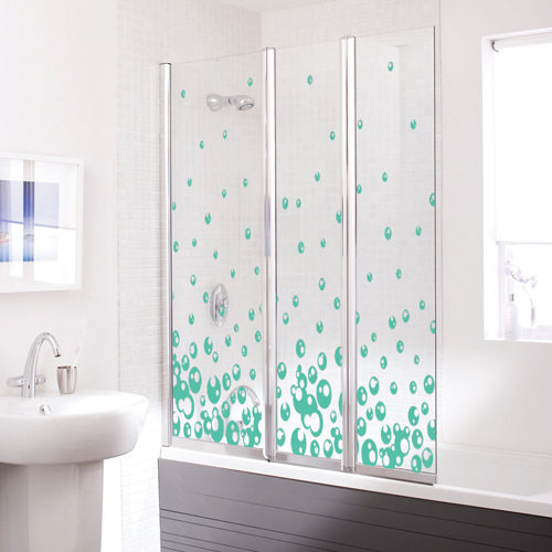 Bathroom Pictures And Canvases : Bubbles vinyl wall decals by blank canvas designs modern