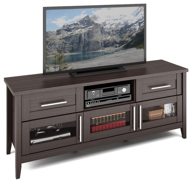 Jackson TV Bench, Modern Wenge Finish - Contemporary ...