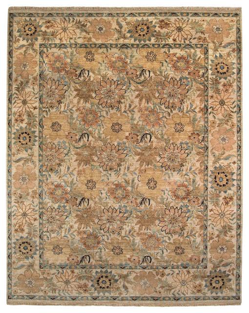Lodi Garden Floral rug in Creme rugs