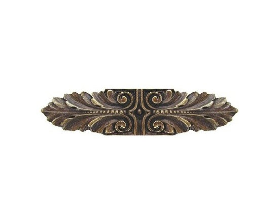 """Inviting Home - Opulent Scroll Pull (antique brass) - Hand-cast Opulent Scroll Pull in antique brass finish; 3-3/4""""W x 7/8""""H; Product Specification: Made in the USA. Fine-art foundry hand-pours and hand finished hardware knobs and pulls using Old World methods. Lifetime guaranteed against flaws in craftsmanship. Exceptional clarity of details and depth of relief. All knobs and pulls are hand cast from solid fine pewter or solid bronze. The term antique refers to special methods of treating metal so there is contrast between relief and recessed areas. Knobs and Pulls are lacquered to protect the finish. Detailed Description: The Opulent Scroll pulls add an amazing focus to any drawers or cabinets - it will make them look regal and majestic. The absolute perfect place for these pulls to be used is in the dining room on your china closet. They are great pulls to use if you are trying to punch up an antique piece of furniture or cabinet. You should consider using the Opulent Scroll pulls in combination with the Opulent Flower knobs or wood knobs with flower."""
