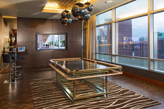 Ritz-Carlton Residences at LA LIVE contemporary-family-room