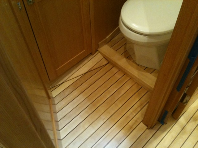 teak boat decking traditional hardwood flooring vancouver by