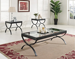 Quintin Coffee Table and End Tables contemporary coffee tables