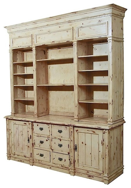 Furniture Classics Antique White Apothecary Cabinet