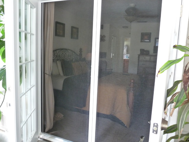 Phantom retractable screen doors screens and room for Phantom sliding screen doors