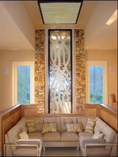 Custom Water Features traditional-indoor-fountains