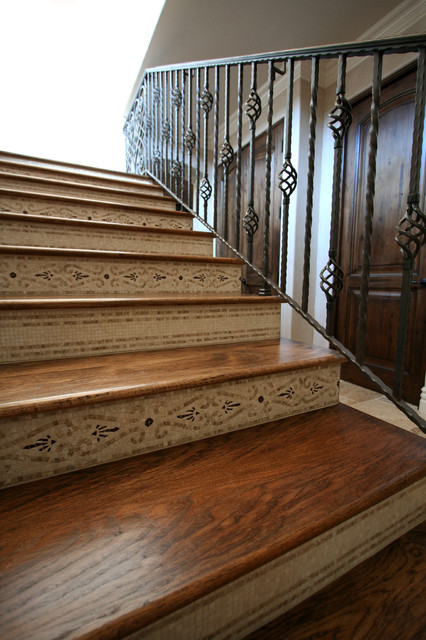 Decorative Staircase Risers