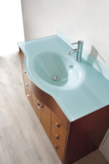 Studio Bathe Vanities contemporary bathroom vanities and sink consoles