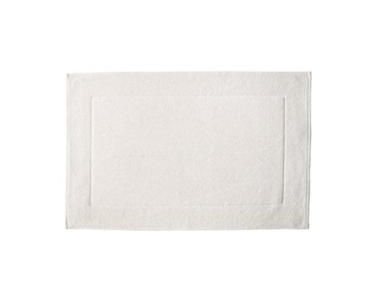 Serena & Lily - Textured Cotton Bath Mat  White - Loops of comfy cotton create a great texture that our feet (and eyes) can 't get enough of. Thick and absorbent, it 's heavenly for the bath and a great new basic that works well with practically any color scheme.