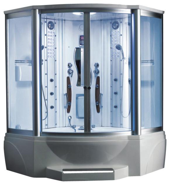 Ariel Steam Shower With Whirlpool Bathtub - Modern - Steam Showers - other metro - by Steam ...