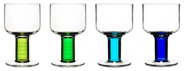 Sagaform Club All-Purpose Glasses contemporary glassware