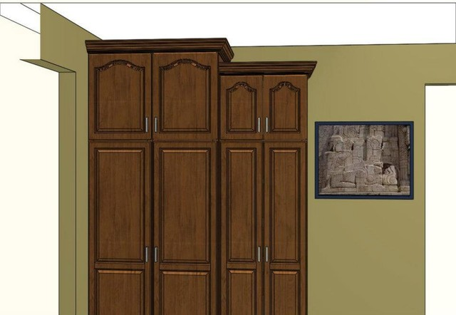 Custom Kitchen Cabinetry 3D Rendering Cabinets Design & Ideas traditional-kitchen-cabinets