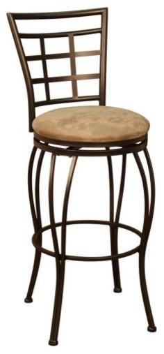 AHB Licanta 30 in. Swivel Bar Stool - Coco contemporary-bar-stools-and-counter-stools