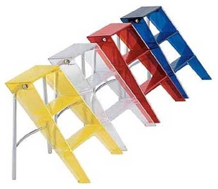 Kartell Upper Step Ladder modern-ladders-and-step-stools