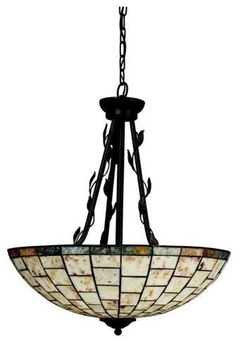 Kichler Lighting Kichler Botanical Reflections 65307 Inverted Pendant - 20 in. - traditional-ceiling-lighting