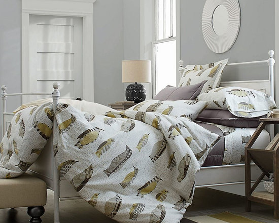 Chilling Out Flannel Sheets & Bedding Set -