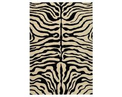 Soho Black/White Rug modern-rugs