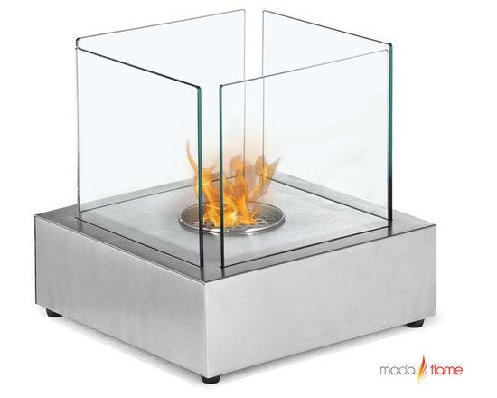 Moda Flame Toro Table Top Ethanol Fireplace - Toro Table Top Ethanol Fireplace