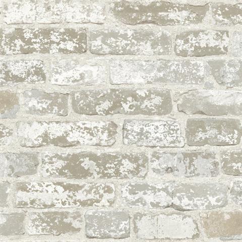 faux grey and white brick wallpaper wallpaper houston